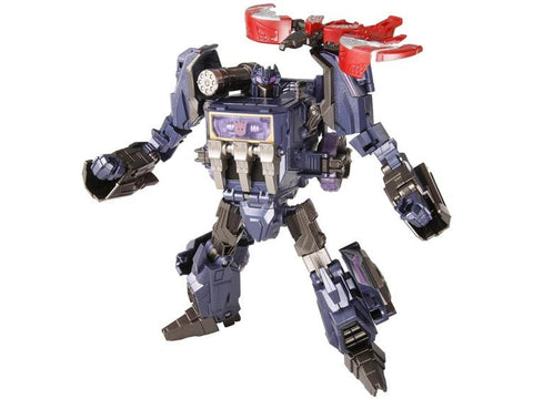 TG13 - Fall of Cybertron Soundwave & Laserbeak (Takara)