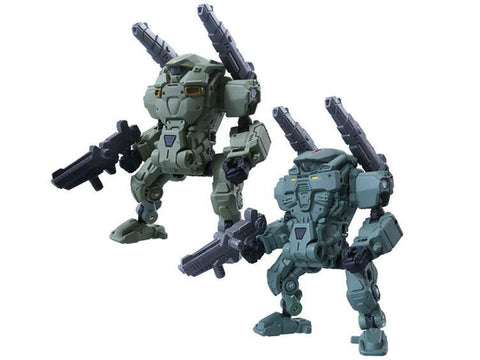Diaclone Reboot - DA-05 Diaclone Powered System Suit - Cosmo Marines Version Set of 2