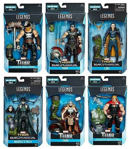 Marvel Legends - Thor Ragnarok Set of 6