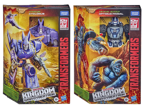 Transformers War for Cybertron: Kingdom - Voyager Wave 1 Set of 2 Figures