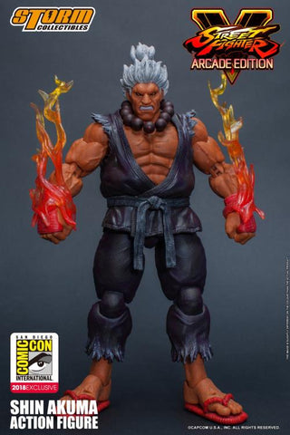 Storm Collectibles - Street Fighter V: Arcade Edition Shin Akuma 1/12 Scale SDCC 2018 Exclusive