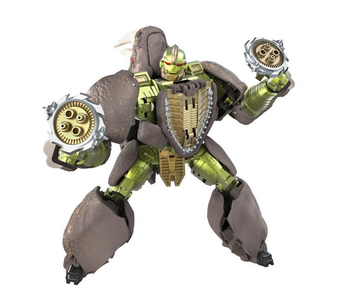 Transformers War for Cybertron: Kingdom - Voyager Class Rhinox (2nd Shipment)