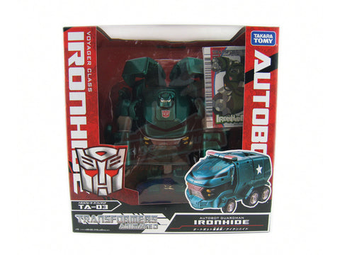 TA-03 Animated Ironhide (Voyager Class)