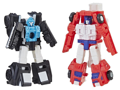 Transformer Generations Siege - Micromasters Red Heat & Stakeout