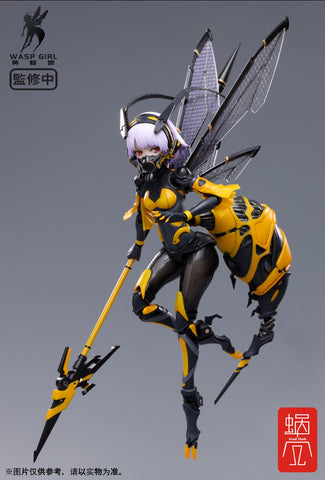 Snail Shell - Bee-03W Wasp Girl 1/12 Scale Action Figure