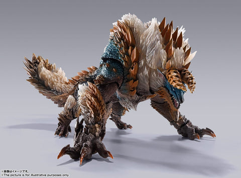 Bandai - S.H.Monsterarts Monster Hunter World: Zinogre
