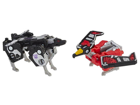Transformer Generations Siege - Micromasters Laserbeak & Ravage