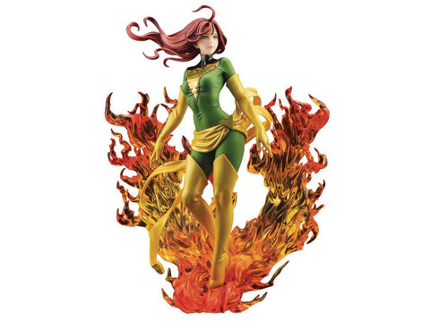 Kotobukiya - Marvel Bishoujo Statue: NYCC 2020 Previews Exclusive Phoenix Rebirth