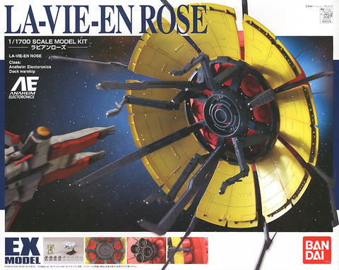 Bandai - EX Model - EX-30 1/1700 La-Vie-En Rose