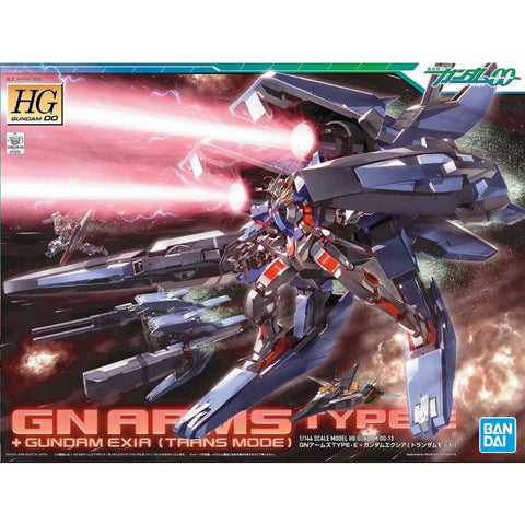 High Grade 00 1/144 - 13 GN Arms Type-E + Gundam Exia [TRANSAM Mode]