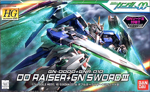 High Grade 00 1/144 - 54 00 Raiser + GN Sword III