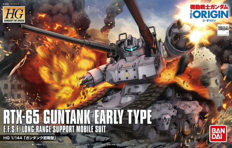 High Grade The Origin 1/144 - RTX-65 Guntank Early Type