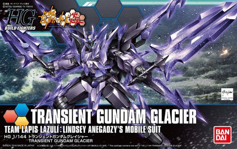 High Grade Build Fighters 1/144 - 050 Transient Gundam Glacier