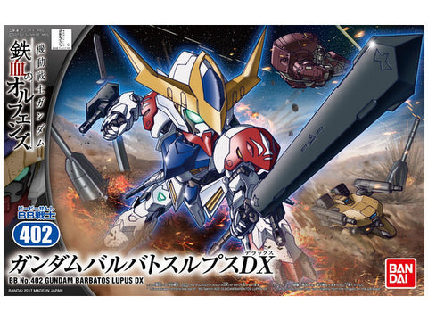 SD Gundam - BB402 Gundam Barbatos Lupus DX