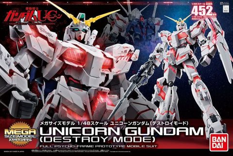 Mega Size 1/48 - Unicorn Gundam (Destroy Mode)