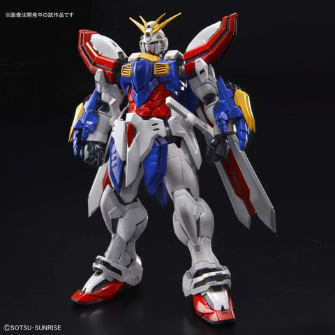 High-Resolution Model 1/100 - God Gundam