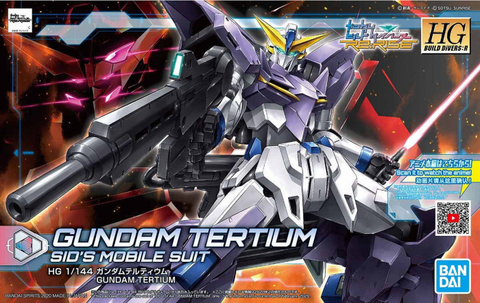 High Grade Build Divers Re:Rise 1/144 - 016 Gundam Tertium