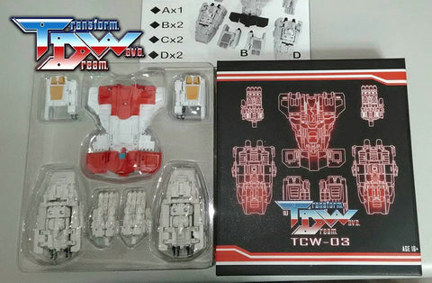 Transform Dream Wave - TCW-03 Superion Add-On Set