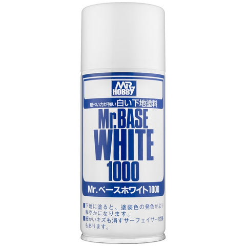 Mr Base White Spray 1000