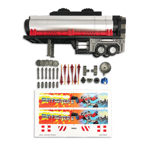 Fans Hobby - Master Builder - MB-09B Trailer for MB-04 Gunfighter