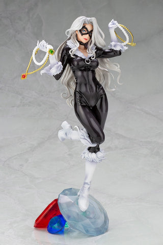 Kotobukiya - Marvel Bishoujo Statue: Black Cat Steals Your Heart