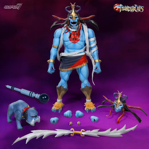 Super 7 - Thundercats Ultimates: Mumm-Ra with Ma-Mutt