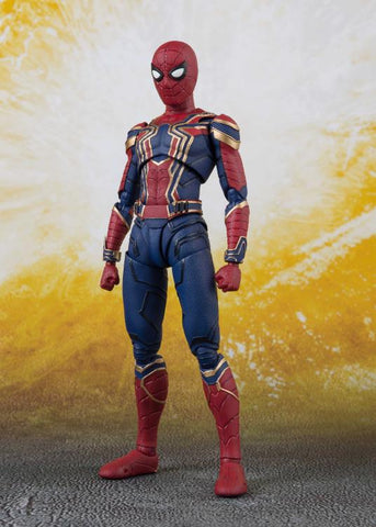 Bandai - S.H.Figuarts - Avengers: Infinity War - Iron Spider & Tamashii Stage
