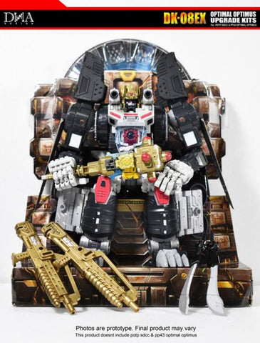 DNA Design - DK-08EX Throne of the Primes Optimal Optimus Upgrade Kit
