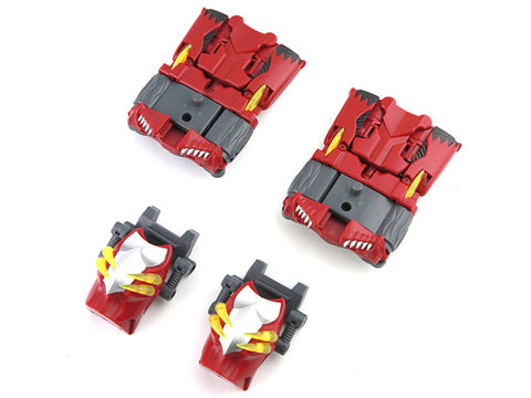 TFC Combiner Poseidon - Bonus Enhance Pack: Red