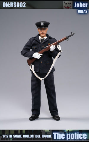 Crazy Figure X Rock Toys - 1/12 Buffoon Police