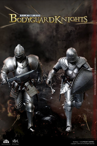 COO Model - Palm Empires: Bodyguard Knight Double Figure Set 1/12 Scale