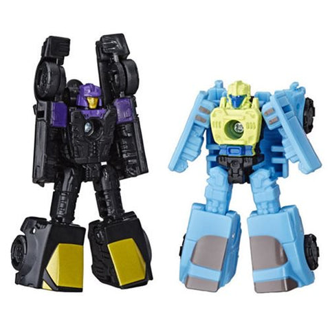 Transformers Generations Siege - Micromasters Blackjack & Hyperdrive