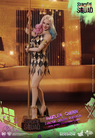 Hot Toys -  Suicide Squad: Harley Quinn Dancer Dress Version - Movie Masterpiece Series