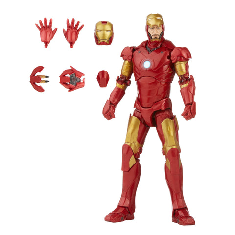 Marvel Legends - Infinity Saga: Iron Man - Iron Man Mark III