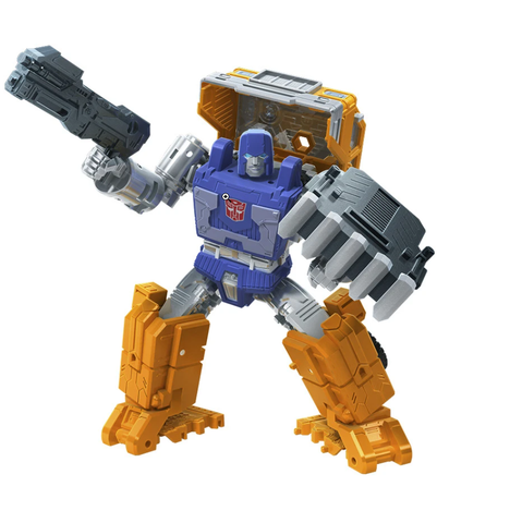 Transformers War for Cybertron: Kingdom - Deluxe Class Huffer