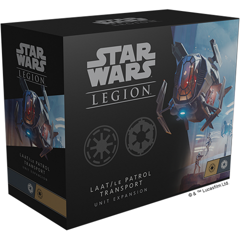 Fantasy Flight Games - Star Wars : Legion - LAAT/le Patrol Transport Unit Expansion