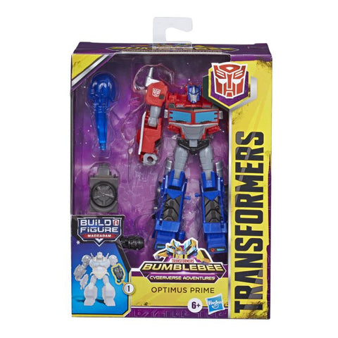 Transformers Cyberverse - Deluxe Optimus Prime