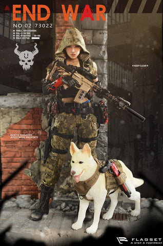 "Flagset - Doomsday War Series: End War Death Squad ""U"" Umir and Dog Suit"