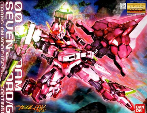 Master Grade 1/100 - 00 Gundam Seven Sword/G (Trans-AM Mode) [Special Coating]