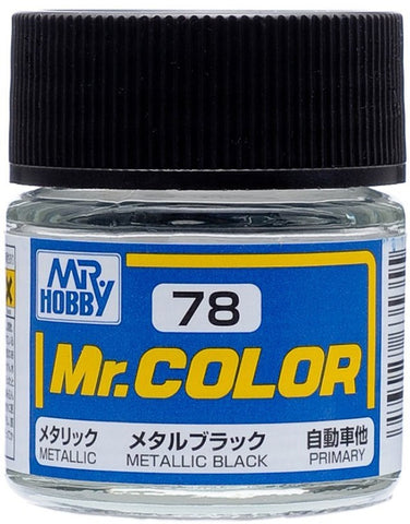 Mr Color 078 Metallic Black