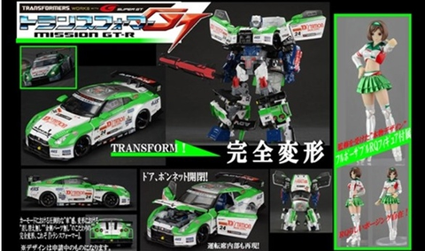 Alternity Transformers x Super GT 04 GTR Maximus