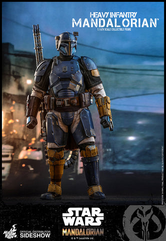 Hot Toys - Star Wars The Mandalorian - Heavy Infantry Mandalorian