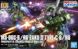 High Grade The Origin 1/144 - MS-06C/R6 Zaku II Type C-6/R6