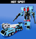 Transformers Unite Warriors UW-03 - Defensor with Bonus Groove Figure (Takara Tomy Mall Exclusive)