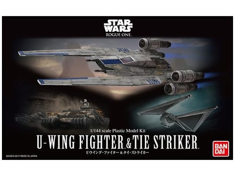 Bandai - Star Wars Model - U-Wing Fighter & Tie Striker