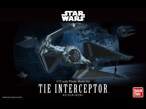 Bandai - Star Wars Model - Tie Interceptor