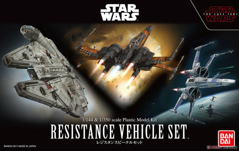 Bandai - Star Wars Model - Resistance Vehicle Set