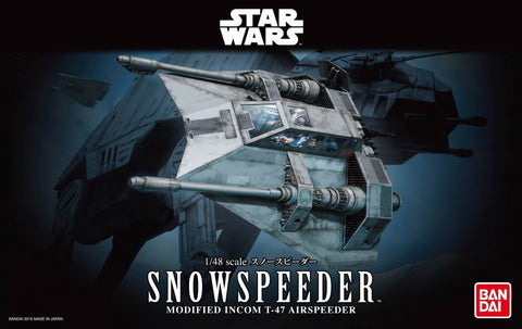 Bandai - Star Wars Model - Snow Speeder