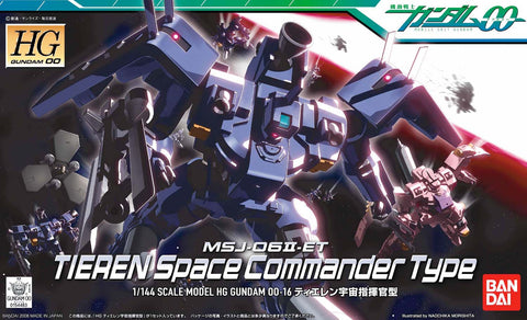 High Grade 00 1/144 - 16 Tieren Space Commander Type