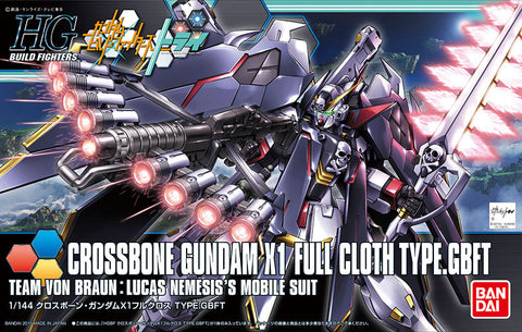 High Grade Build Fighters 1/144 - 035 Crossbone Gundam X1 Full Cloth Type.GBFT